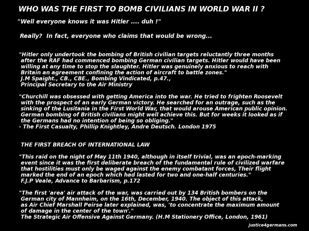the alleged reasoning for dresden being bombed I find that a large number of posters are disgusted over what happened to dresden as a 71 year old i can just remember my home town birmingahm being bombed and the centre of coventry being destroyed so i.