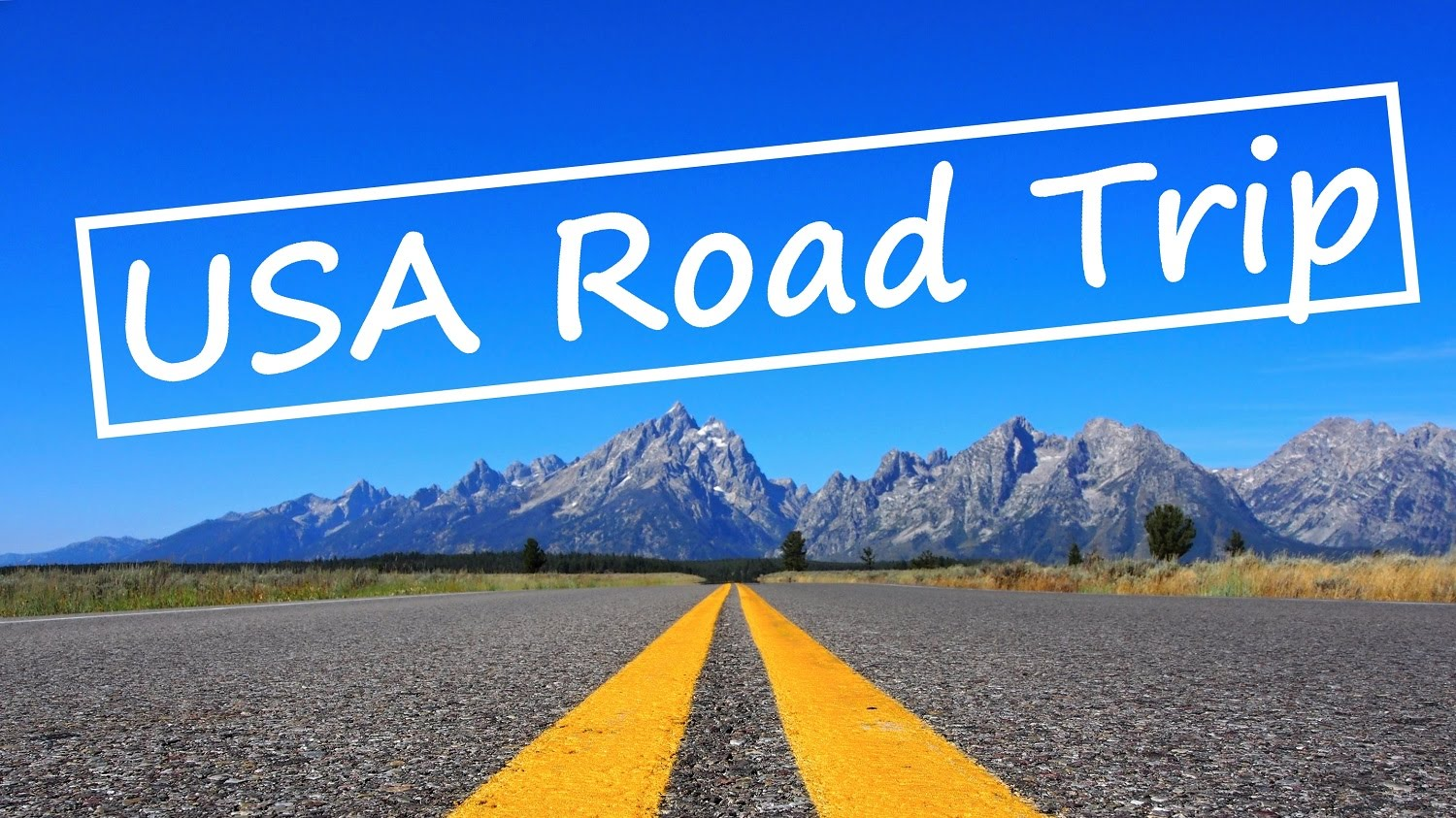 road tripping in the usa