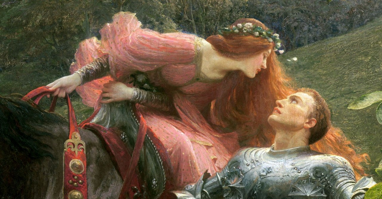 a comparison of poems mariana by alfred lord tennyson and la belle dame sans merci by john keats